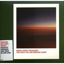 Manic Street Preachers - You Stole The Sun Cd Vbf Disco Rock