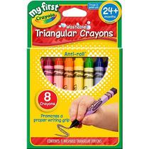 Crayola Mis Primeras Lavables Crayons 8-pack