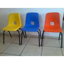 Silla Preescolar Variedad De Diseños