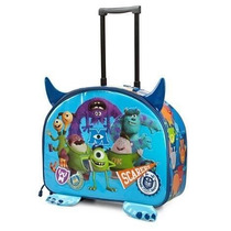 Mochila Maleta Monsters University Llantitas Disney Store