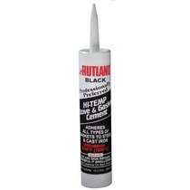 Rutland Estufa Junta Cemento Negro 10.3 Oz Cartucho