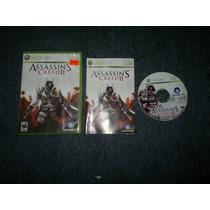 Assassins Creed Ii Completo Para Xbox 360,excelente Titulo.