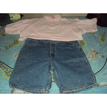 Conjunto De Short Y Camisa Tipo Polo