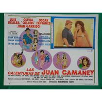 Las Calenturas De Juan Camaney Sexy Topless Cartel De Cine