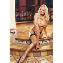 Dreamgirl D0003 Thigh High Fence Net Medias Dama