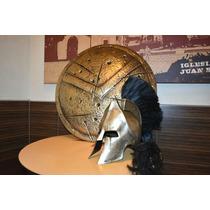 Escudo Y Casco Leonidas Espartano 300