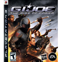 Gi - Joe The Rise Of The Cobra Ps3 Nuevo De Fabrica