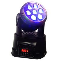Cabeza Robotica Mini Rgb Audioritmica Secuencial Y Dmx Xaris
