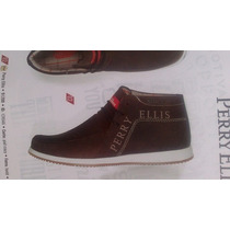 Botines Zapatos Mocasines Perry Ellis Caballero Originales