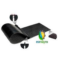 Panel Solar Para Alberca Flexible1.2 X 2.4m Calor Ecomaqmx