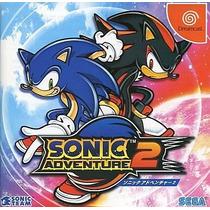 Sonic Adventure 2 Dreamcast Japonesa