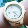 100% Madera Natural, Reloj Para Mujer, Envío Gratis!!!