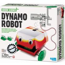 4m Robot Dynamo Generador Set Didactico Cientifico P/armar