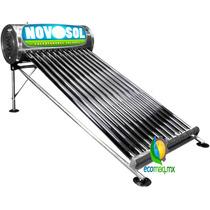 Calentador Solar Novosol 8 Tubos 84l A/inoxidab Envio Gratis