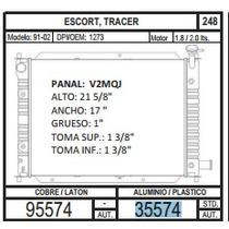 Radiador Escort / Zx2 91-02 L4 1.9 / 2.0 35574 + Regalo