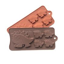 Molde De Silicon Para Hacer Dinosaurios De Chocolate