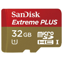 Sandisk 32gb Micro Sd Hc Clas 10 Extreme Plus Mobile Android