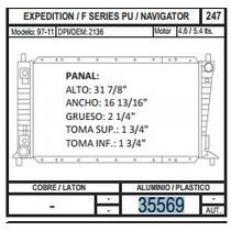 Radiador Expedition / Navigator 97-04 V8 4.8 / 5. 35569