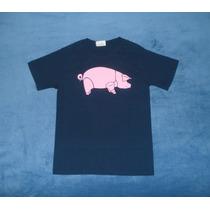 Playera Camiseta Pink Floyd Animals Pig Cerdo Rosa Rock Musi