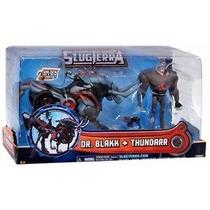 Slugterra Dr. Blakk + Thundarr Mechabeast Bajoterra