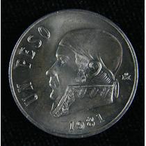 Coleccion De 13 Monedas $1.00 1970 A 1983 Morelos.