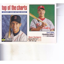 1998 Choice Tops Of Charts Nomar Garciaparra Scott Rolen