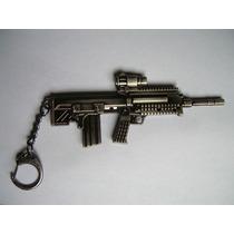 Llavero De Metal Rifle De Francotirador Vv4
