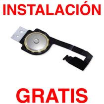 Boton Home Iphone 4 Instalacion Gratis - Flex Original