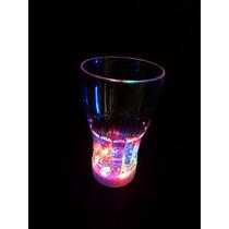 25 Vasos Luminoso Vaso Con Luz Iluminado Fiesta Boda Xv Neon
