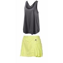 Conjunto Falda Y Blusa Adidas Stella Mcartney Tennis Tenis