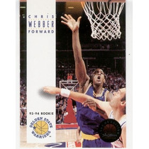 1993 94 Sky Box Chris Webber Rc Golden State Warriors