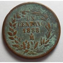 1 Centavo 1888 Mo República Mexicana