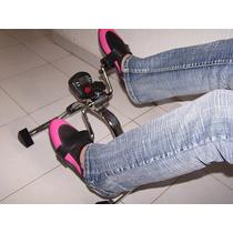 Bicicleta Fija Plegable Con Podómetro - Entrega Gratis En Df