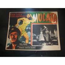 Mulata Ninon Sevilla Lobby Card Cartel Poster