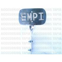 Placa Decorativa Metálica Logo Scat Empi Vw Sedan Vocho