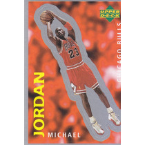 1997 Ud Choice Italian Sticker Michael Jordan Bulls #205