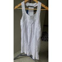 Vestido Zara Talla S, Blanco
