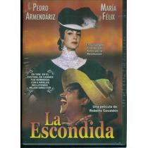 La Escondida. Maria Felix Y Pedro Armendariz. Formato Dvd