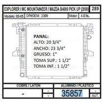 Radiador Explorer/ Mazda B4000 Pick Up 00-05 35857