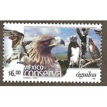 Mexico Conserva Aguilas $6.00 Fauna Aves
