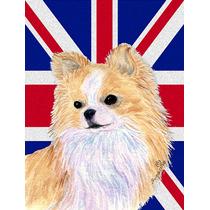 Chihuahua Inglés Union Jack Británica Bandera De La Bander