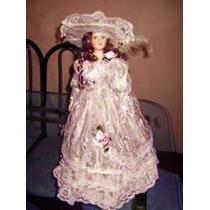 Muñeca De Porcelana Luis Xv. Vintage.