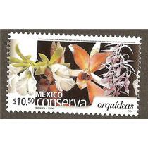 Mexico Conserva Orquideas $10.50 Flora Vbf