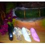 Zapatillas Tipo Cristal (acrilico) De Colores Y Trasparente.