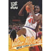 1996-97 Fleer Ultra Rookie Walter Mccarty Knicks