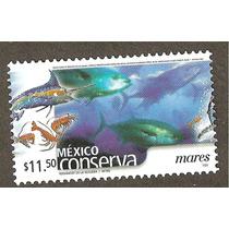 Mexico Conserva Mares $11.50 Fauna Peces Vbf