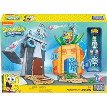 Mega Bloks Bob Esponja Spongebob Squarepants Bad Neighbors