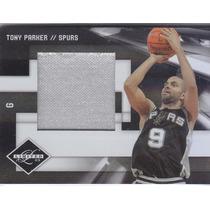 2009-10 Limited Jumbo Jersey Tony Parker Spurs 10/10