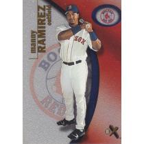 2001 Skybox E-x Manny Ramirez Of Red Sox