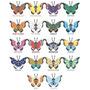 Colección Completa Vivillon Normal Y Shiny- Pokemon X Y